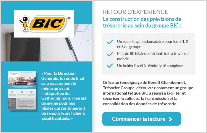 Témoignage Trésorier Groupe BIC