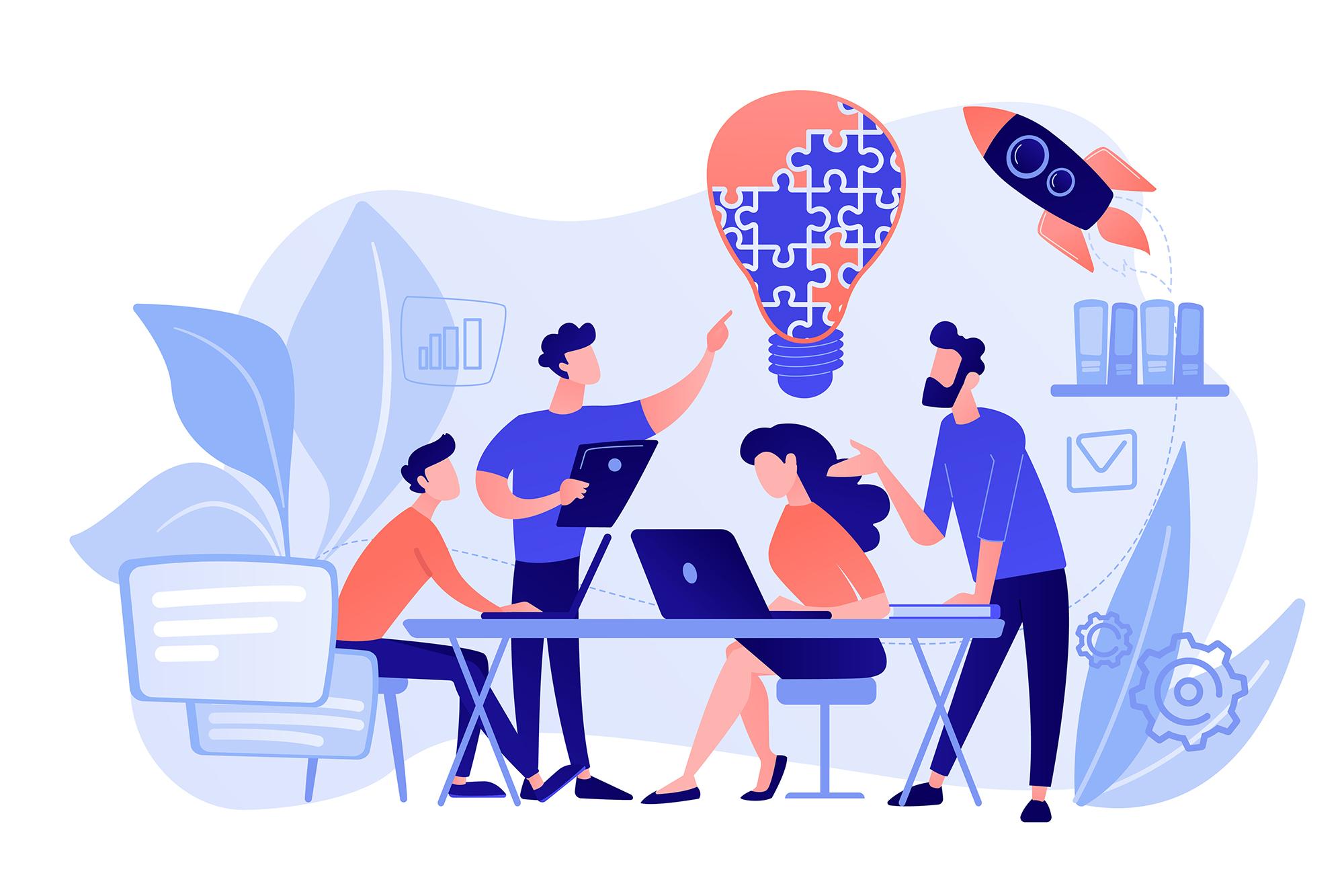 collaboration IT métiers